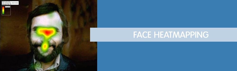Face heatmapping