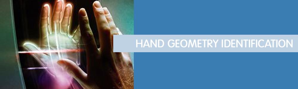 Hand geometry identification